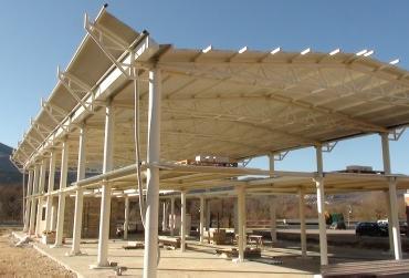 Carpenteria metallica eurotest coperture e tetti per edifici - Struttura in ferro per casa ...